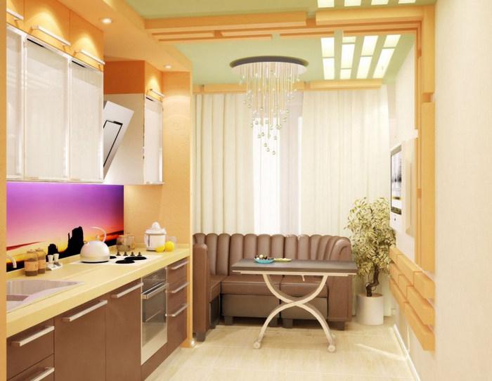 Как объеденить кухню и балкон