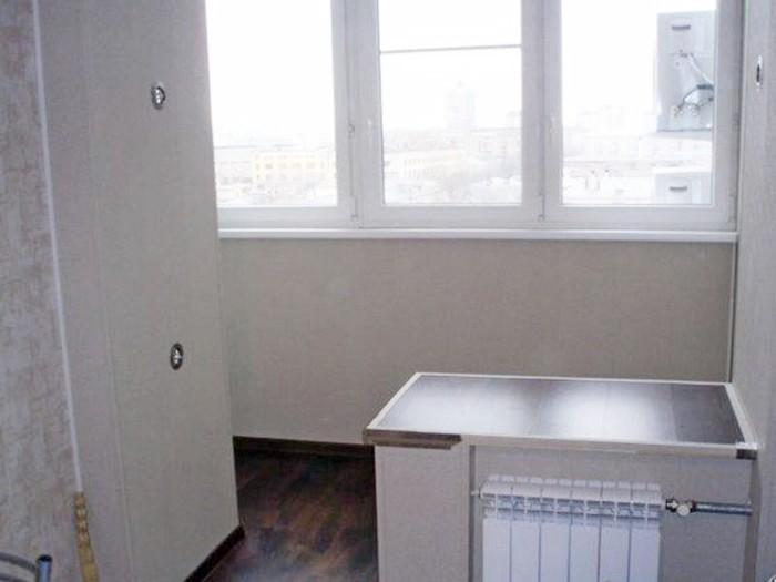 Утепление кухни и балкона